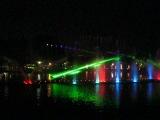 Китай. Куньмин. Парк Зеленого озера. Шоу фонтанов